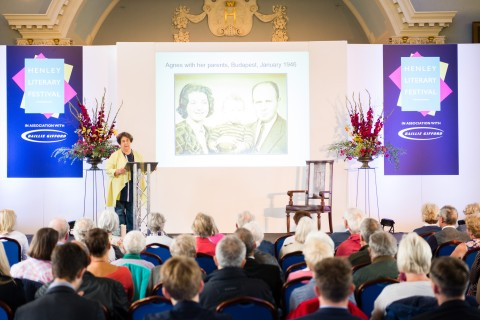 Photo courtesy Henley Literary Festival/James Gifford-Mead