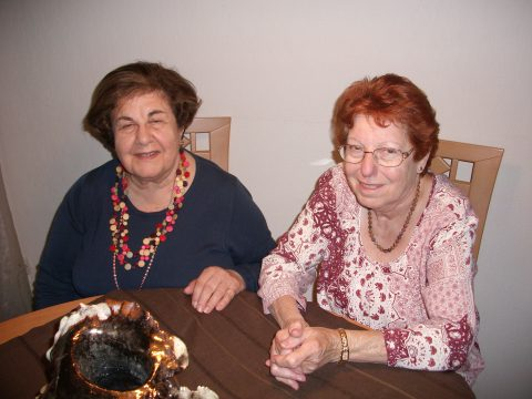 Edith Erbrich with Agnes 6 October 2017